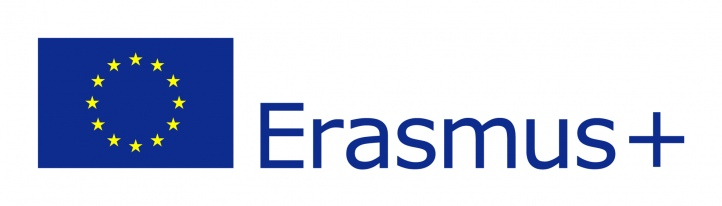 Logo UE oraz napis Erasmus plus