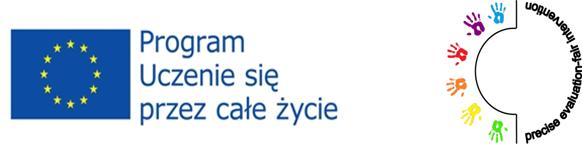 Logo UE oraz Comenius - Program uczenia się przez całe życie