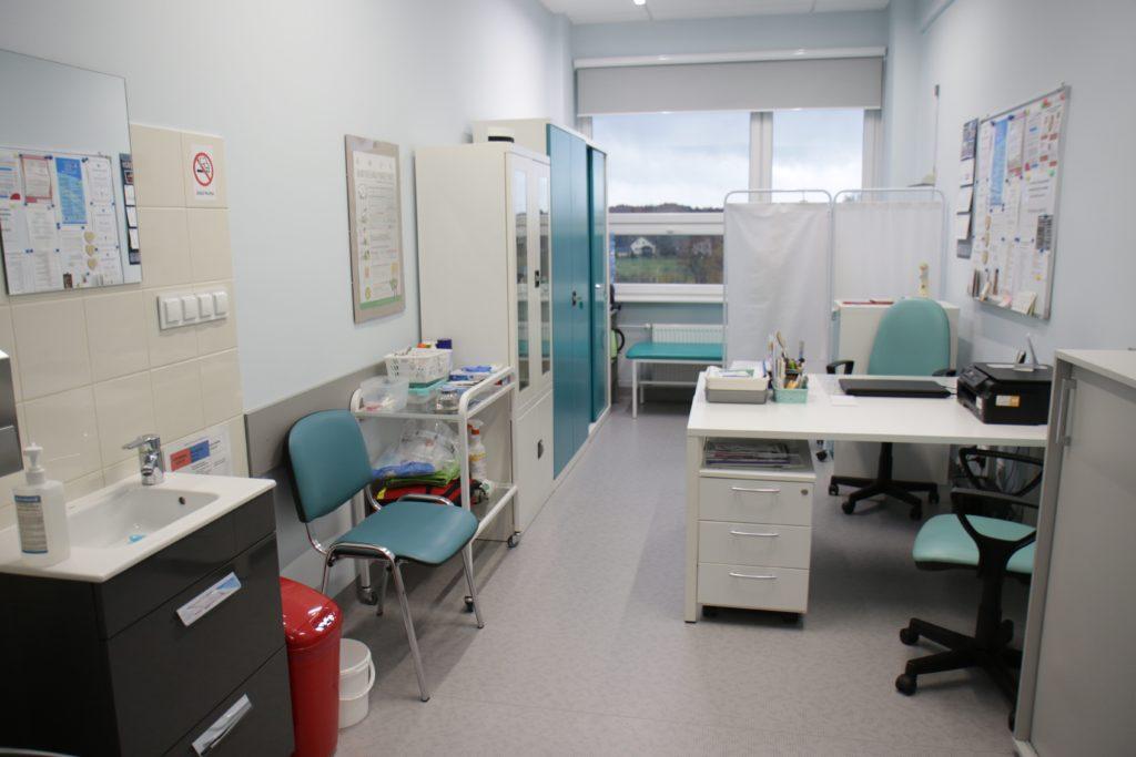 Gabinet pielęgniarski.
