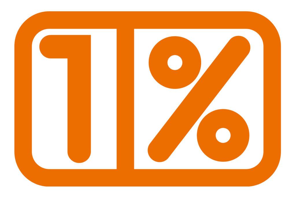 1%  – prośba o wsparcie