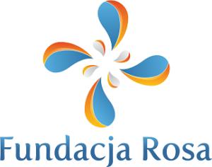 Logotyp i nazwa fundacji ROSA.