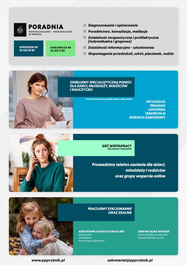 Informacja o ofercie wsparcia i działalności PPP w Rybniku
