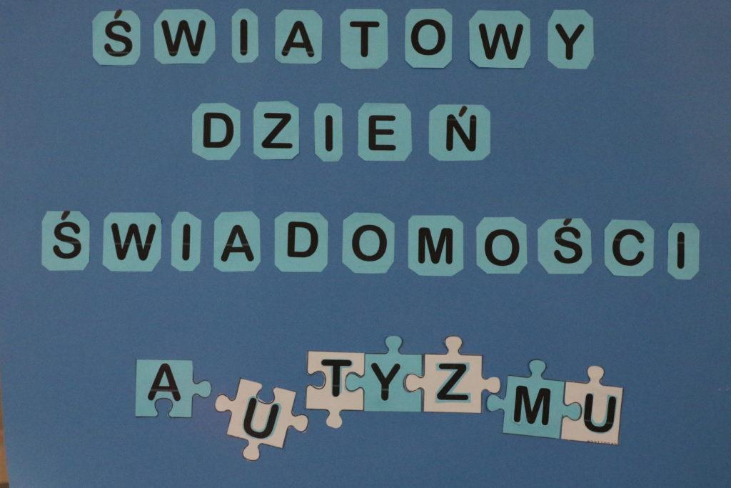 Niebieska moc w kształcie puzzli, czyli nasze obchody Światowego Dnia Świadomości Autyzmu
