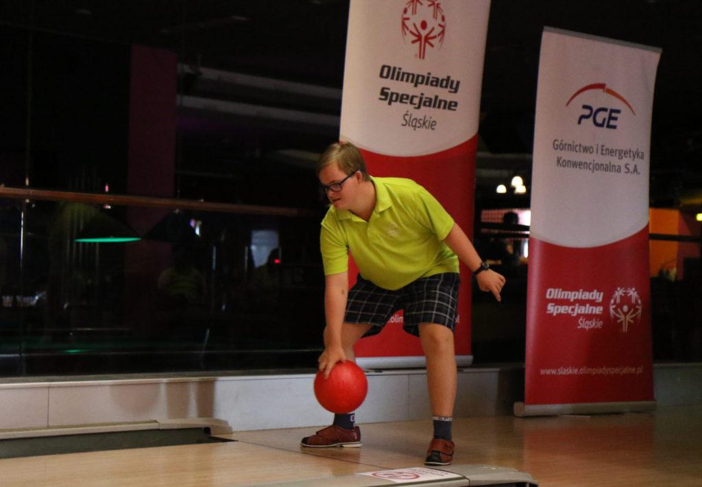 Wakacyjny Rodzinny Turniej Bowlingowy Klubu Olimpiad Specjalnych Promyk Rybnik