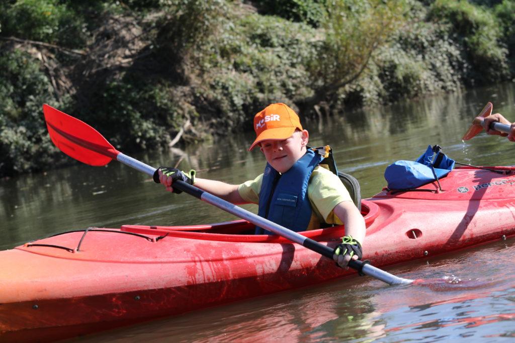 XVII Regionalny Spływ Kajakowy Rzeką Odrą Olimpiad Specjalnych 2021 z udziałem naszych podopiecznych!