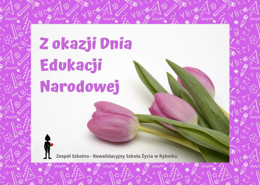 Z okazji Dnia Edukacji Narodowej 2021